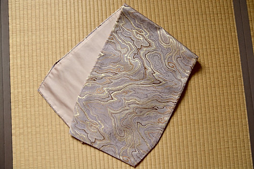 Table Runner, Obi Fabric, Marble Pattern