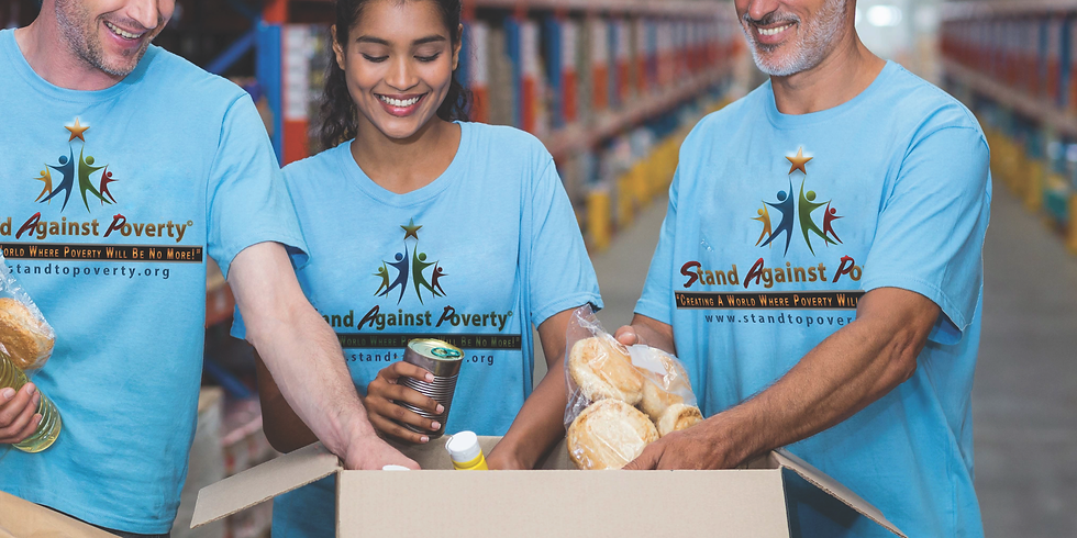 Stand Against Poverty's Meal Packaging and Food Distribution (1)