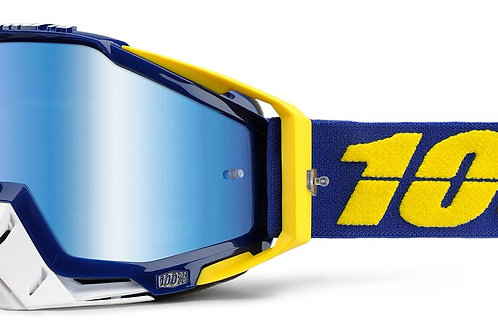 Óculos 100% Racecraft Azul/Amarelo