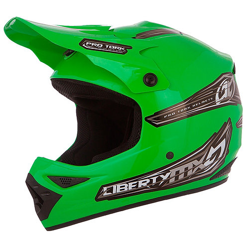Capacete Protork Liberty Mx Verde