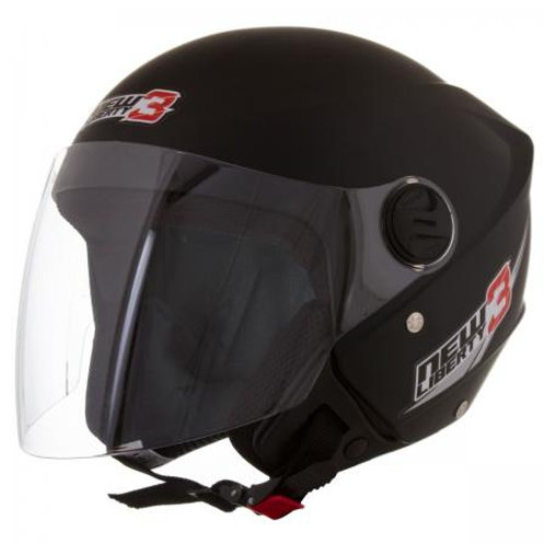 Capacete Tork New Liberty Three Preto