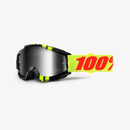Óculos 100% Accuri Preto/Verde Fluor