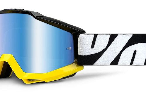 Óculos 100% Accuri Preto/Amarelo