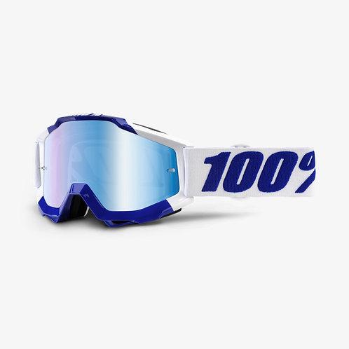 Óculos 100% Accuri Azul/Branco