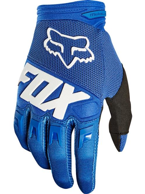 Luva Fox Dirtpaw 18 Azul