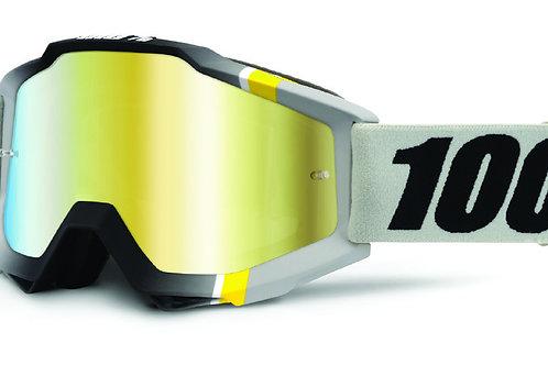Óculos 100% Accuri Cinza/Amarelo