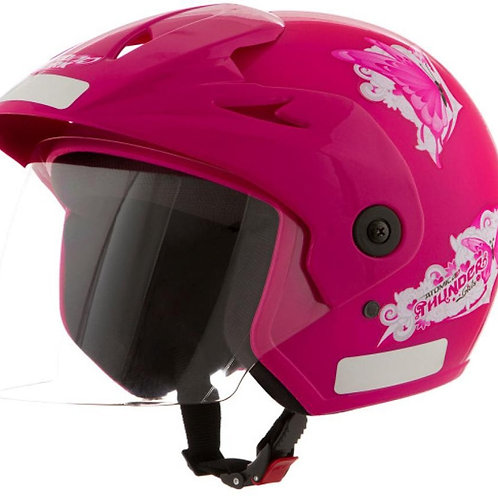 Capacete Tork Atomic For Girls Rosa