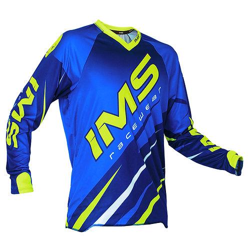 Camisa Ims Action 18 Azul/Fluor