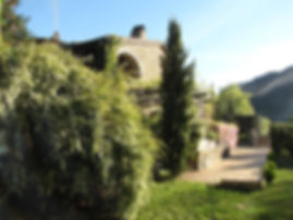 Gîte Les Buissières : jardin privatif et jeu de boules