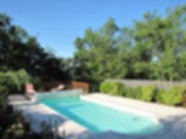 Les Buissières : piscine