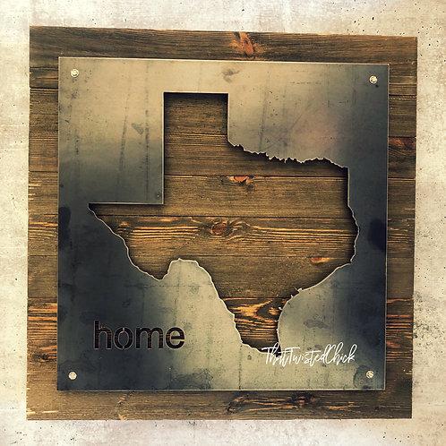"""home"" State- Texas"