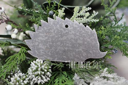 Hedgehog Christmas Ornament