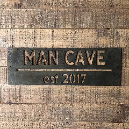 Man Cave est 2017- Patina