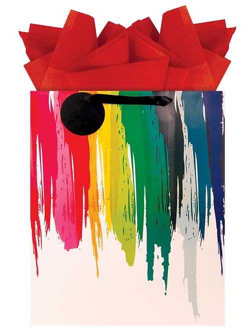 Rainbow Drip Jumbo Bag