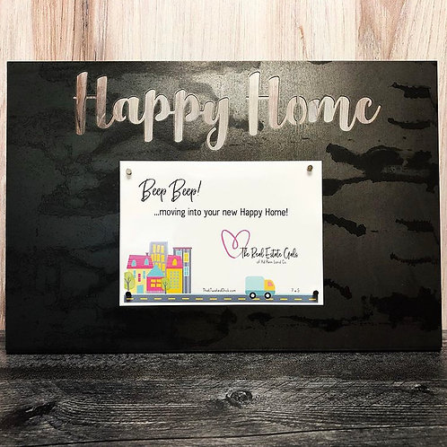 Happy Home Standing Frame