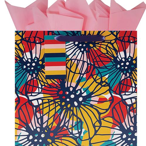 Bauhaus Blooms Large Bag