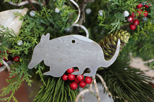 Armadillo Christmas Ornament