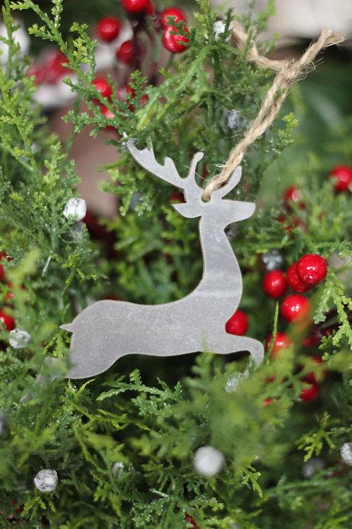 Set of 10 Assorted Christmas Ornaments: Classic Symbols