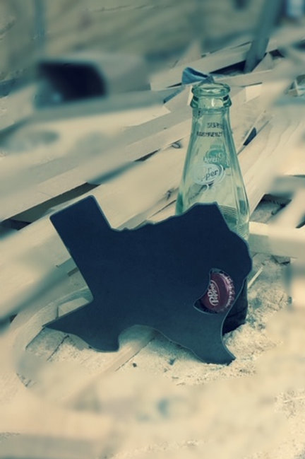 Bottle Opener: Texas