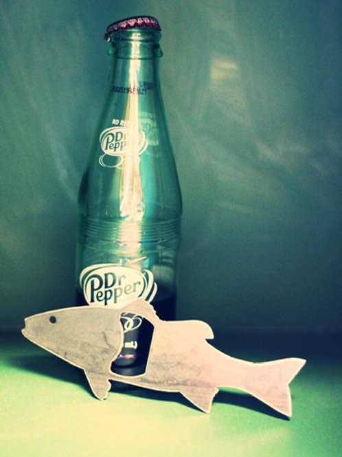 Bottle Opener: Fish