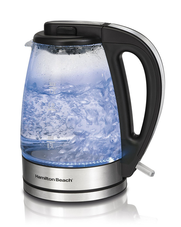 The Hamilton Beach Glass Electric Kettle