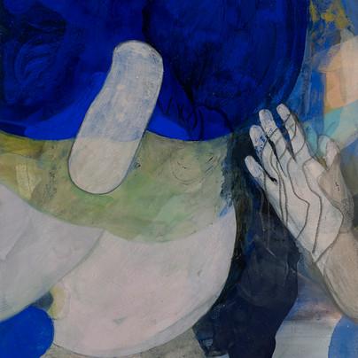 Untitled (Radiant Blue), 2018