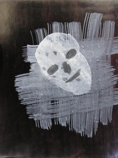 Untitled (Happy Skull)