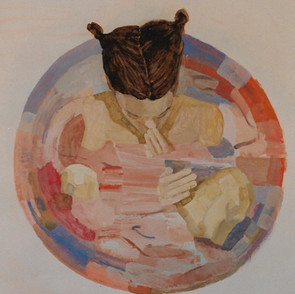 Pink in Bowl II, 2000