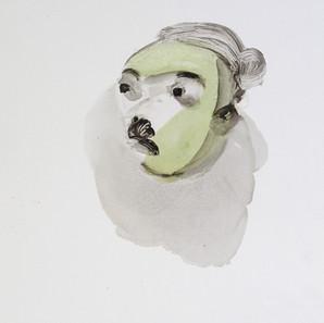 Self Portrait as Frog, 2000