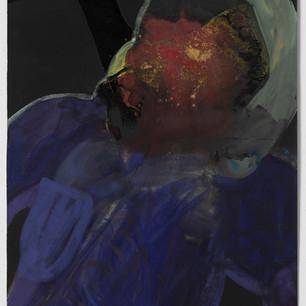 Untitled (Dark Purple), 2020