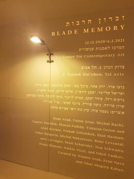 Blade Memory opening @ CCA Center for Contemporary Art