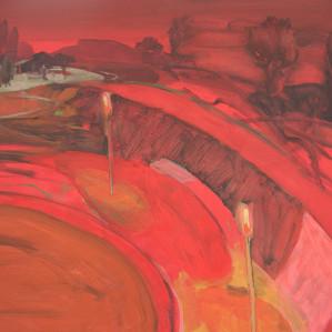 Red Landscape, 2005