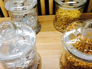 金箔で可視化する香りのゆらめき