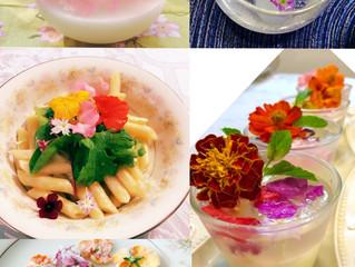 日常をアートに。香りとお花をお料理に仕込む