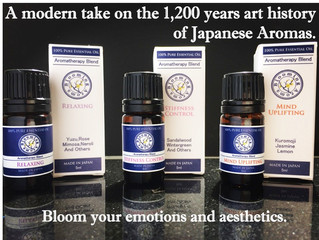 Online sales has started!  [Blooming Aroma Series]