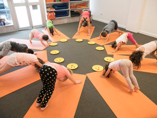 The big benefits of yoga for little kids