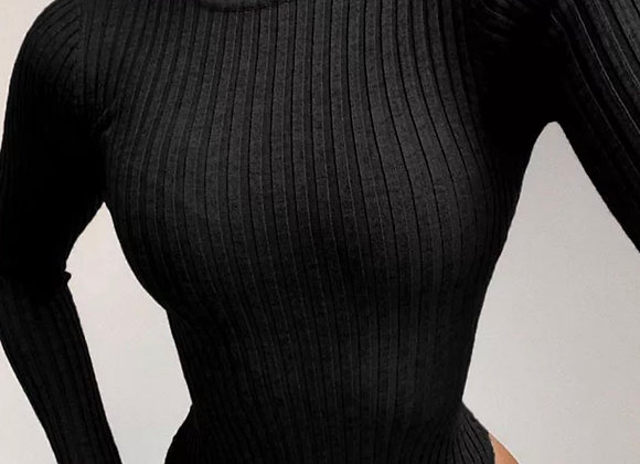 Turtle Ribbed Bodysuit