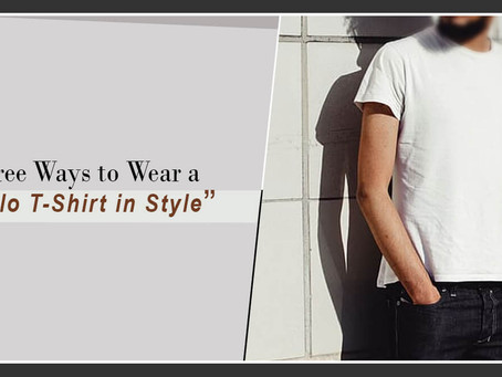 Three Ways to Wear a Polo T-Shirt in Style