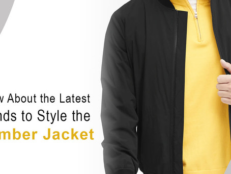 Know About the Latest Trends to Style the Bomber Jacket