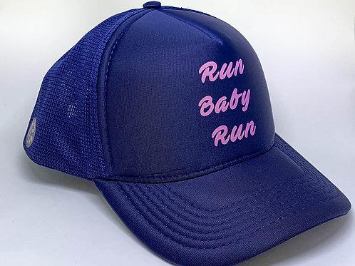 "BONÉ TRUCKER MARINHO ""RUN BABY RUN"""