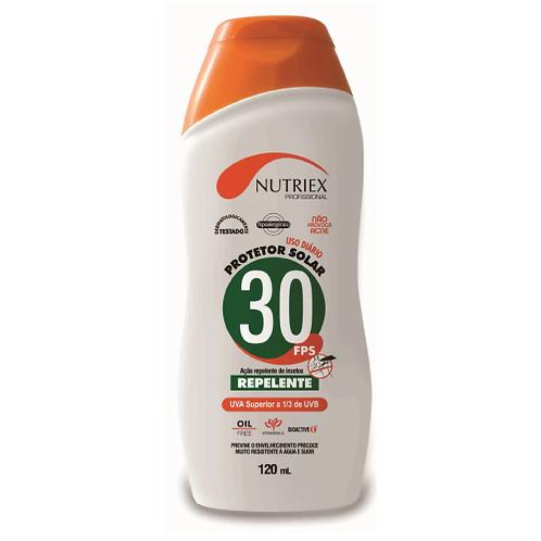 Protetor solar Nutriex FPS 30-bis.120 Grs. C/Rep