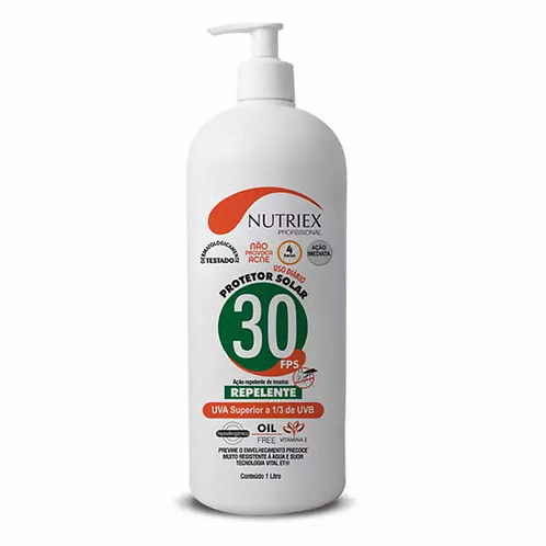 Protetor solar Nutriex FPS 30-BB2L.-C/Rep.