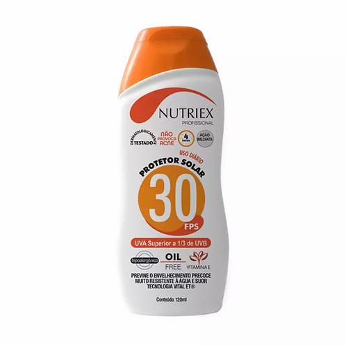 Protetor solar Nutriex FPS 30-bis.120 Grs