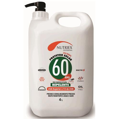 Protetor Solar Nutriex FPS 60-BB4L.-C/Rep
