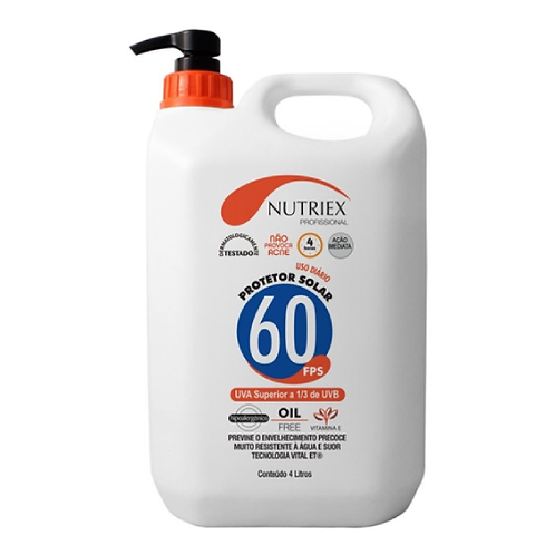 Protetor Solar Nutriex FPS 60-BB4L