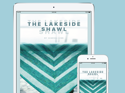 The Lakeside Shawl - PDF