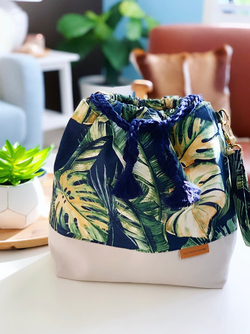 Navy Bahama Large Bag