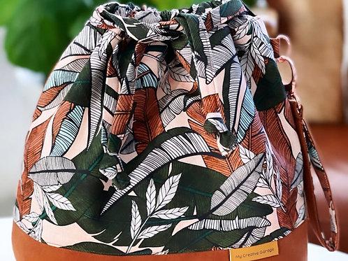 Classic Large MCG Bag- Jungle Palm