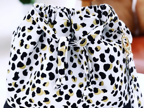 Classic Large MCG Bag- Snow Leopard