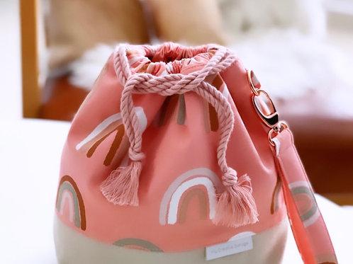 Coral Rainbow -  Medium Classic bag